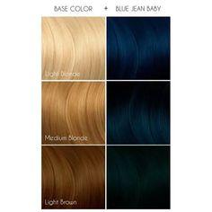 Dark Blue Hair, Dyed Hair Blue, Brown Blonde Hair, Artic Fox Hair, Arctic Fox Hair Dye, Caring For Colored Hair, Colored Hair Tips, Vibrant Hair Colors, Hair Color Formulas