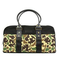 Wheelmen Camo Duffel Bag