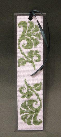 Green Motif Bookmark