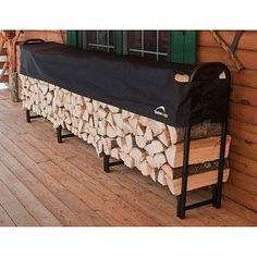 ShelterLogic Covered Firewood Rack 12 ft. - Overton's