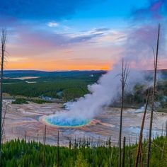 Yellowstone National Park has one of a kind views - #FindYourPark #Yellowstone #Travel