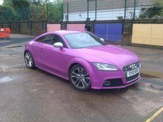 Purple audi TT Rs