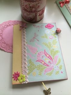 #Cover #Scrapbook #Pink #HandeMade #Romantic #Gift
