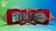 Karen's Kreative Kards: CASING Karen Burniston's Gingerbread Tag Book Pop Up