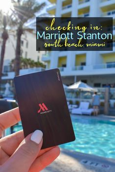 Located in the exclusive South of Fifth neighborhood in South Beach, Miami, The Stanton Marriott is the perfect place to base yourself when visiting Miami. #miamihotels #miami #floridatravel