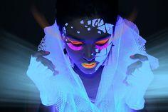 UV makeup - Rave Paint