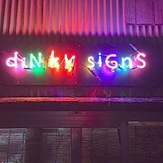 ネオン屋 ディンキーサインズ: neon
