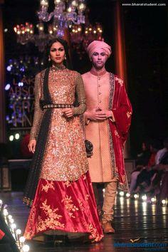 Lengha and Sherwani by Sabyasachi at Lakme Fashion Week Winter / Festive 2013