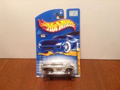 Hot Wheels '57 Chevy #53 Turbo Taxi 2001 Black 1957 50 Cent Combined Shipping…
