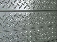 Faux Diamond Plate Slatwall Panels