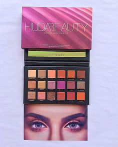 eyeshadow Huda Beauty is our makeup inspiration! This eyeshadow palette is just gorgeous and the shades have such great range you can really create tons of new creative looks with this! Huda Beauty Eyeshadow Palette, Eyeshadow For Blue Eyes, Eyeshadow Dupes, Makeup Brands, Best Makeup Products, Makeup Vault, Huda Beauty Desert Dusk, Eyeliner Tutorial, Make Beauty