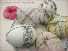 Shabby Chic Interiors: { Uova Shabby Chic }
