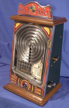 Whiz Ball 1¢ Counter Top Skill Game 1930's Arcade Game Machines, Arcade Machine, Casino Machines, Vending Machines, Arcade Games, Vintage Menu, Vintage Games, Vintage Toys, Antique Toys