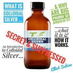 Colloidal Silver FREE Ebook. What is colloidal silver? How does it work? Why are the FDA and pharmaceutical companies trying to ban it, worldwide? http://tinyurl.com/z4ur4tn