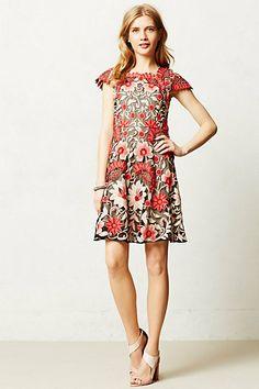 Crisantemo Dress - Anthropologie