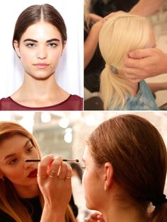 @Hollywood Life  tells how to get the look from #AvonMakeup at the Elizabeth and James Spring 2014 Presentation at #NYFW.