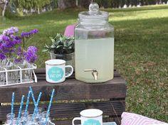 Decoración para fiestas al aire libre / Dispensador de bebidas / Estilo vintage
