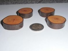 +4+Starke+Magnete+mit+Rinde+aus+Apfelholz+von+Michis-Holzecke+auf+DaWanda.com