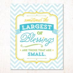 Modern Blessings Baby Shower   8x10 Party Sign U0026 Wall Print (available In 3  Color