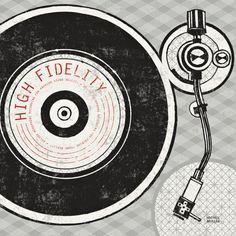 Vintage Analog Record Player - Affischer av Michael Mullan på AllPosters.se