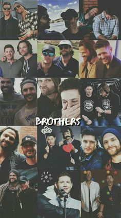 Find images and videos about supernatural, brothers and on We Heart It - the app to get lost in what you love. Supernatural Fans, Supernatural Pictures, Supernatural Wallpaper, Supernatural Tattoo, Supernatural Seasons, Sam Winchester, Winchester Brothers, Dean Winchester Imagines, Destiel