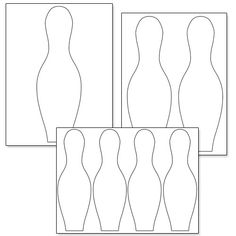 Here's a printable bowling pin template for you. If you like this printable bowling pin template, you might also like to use the printable bowling ball shapes I have posted on Bowling Birthday Cakes, Bowling Party Favors, Bowling Party Invitations, Fun Wedding Invitations, 6th Birthday Parties, 3rd Birthday, Bowling Pins, Bowling Ball, Cake Templates