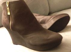 Check out Christian Siriano wedge booties ladies size 12 #ChristianSiriano #PlatformsWedges http://www.ebay.com/itm/-/262150359008?roken=cUgayN&soutkn=6tFonR via @eBay