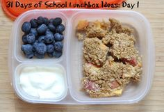 31 Days School Lunchbox Ideas - Day 1