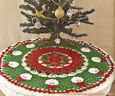toalha em croche natal papai noel da circulo em croche com receita