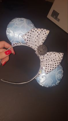 Cinderella Minnie Ears by ACDisney on Etsy