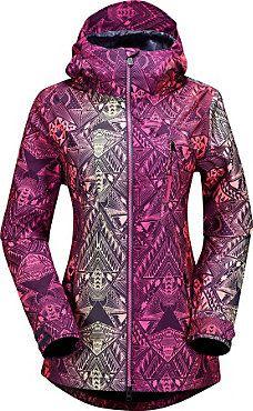 Volcom Velocity Jacket - Women's - Free Shipping - christysports.com - Pink Snowboarding Jacket 2015