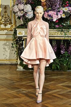 Alexis Mabille Haute Couture Fall-Winter 2013-2014, look 8.