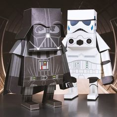 Star Wars Paper Toys from Firebox.com