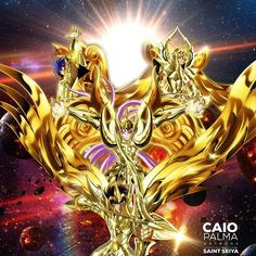 Fanart by Caio Palma. Artbook #illustration #saintseiya #cavaleirosdozodiaco #soulofgold