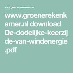 www.groenerekenkamer.nl download De-dodelijke-keerzijde-van-windenergie.pdf