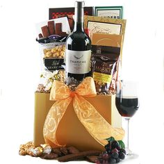 Red Wine Classic Corporate Wine Gift Basket $85.95