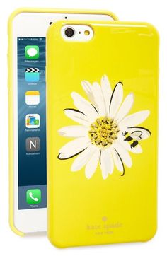 Free shipping and returns on kate spade new york 'jeweled daisy' iPhone 6 Plus & 6s Plus case at Nordstrom.com. A crystal-encrusted floral graphic sparkles on a brightly hued hard-shell case that makes a charming statement while keeping your iPhone safe from scuffs and scratches.