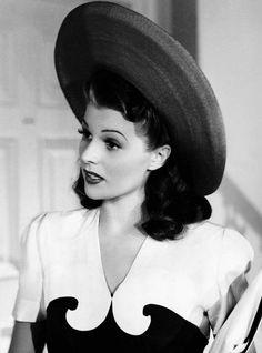 Rita Hayworth as Sheila Winthrop in You'll Never Get Rich, 1941