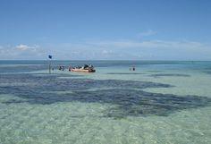 Paripueira Beach, located 25 kilometers from Maceió, Alagoas