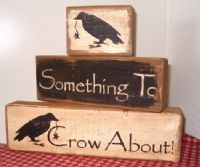 Somthing To Crow About Blocks!~cute and oh-so-easy to make!!!