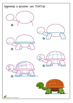 Coloring Pages, Education, Learning: Easy animal drawings simple for kids step by step Drawing Lessons For Kids, Art Drawings For Kids, Drawing For Beginners, Pencil Art Drawings, Doodle Drawings, Disney Drawings, Drawing Tips, Easy Drawings, Drawing Sketches