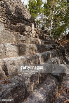 El Mirador, Guatemala. Mayan stone work at El Mirador's... #danta: El Mirador, Guatemala. Mayan stone work at El Mirador's La…… #danta
