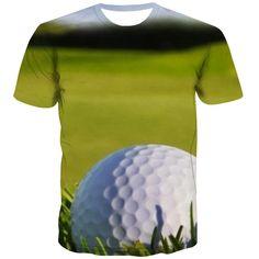 Golf T Shirts, 3d T Shirts, T Shirt Printer, Exterior Colors, Fashion Prints, Cool Stuff, Funny, Fabric, Anime