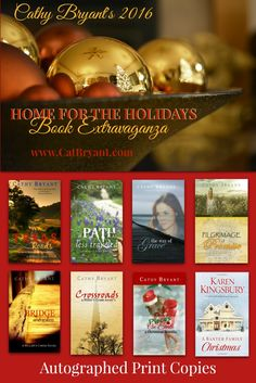 Join in the fun, prizes, and giveaways with the 2016 HOME FOR THE HOLIDAYS BOOK EXTRAVAGANZA. Details here: http://www.CatBryant.com/2016-home-for-the-holidays-book-extravaganza