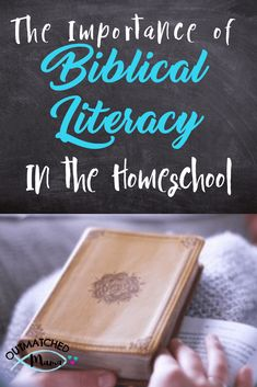 What is biblical literacy in the homeschool look like? How can I apply it to our daily lives? I answer these questions and more! Bible Verses For Women, Bible Study For Kids, Kids Bible, Homeschool Curriculum Reviews, Montessori Homeschool, Thing 1, Home Schooling, Bible Lessons, Learning Activities