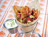 Healthy Baked Vegetable Chips