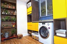 Lavanderia pequena? Veja soluções para esse ambiente.