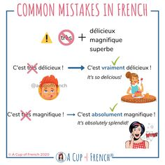 French Sentences, French Verbs, French Grammar, French Phrases, French Language Lessons, French Language Learning, French Lessons, French Basics, French Class