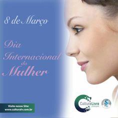 Dia Internacional da Mulher  Parabéns à todas as mulheres!  #março #marco #culturalivre #diainternacionaldamulher #diadamulher #mulher #mulheres #mãe #mae #conquistafeminina #conquistafeminia #mulherespoderosas #sexofragil #sexofrágil #igualdadededireitos #mulheresguerreiras #guerreiras #mulhersexoforte #08demarço #08demarco #março2016 #marco2016