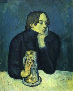 Portrait de Jaime Sabartés (Le verre de bière) (1902)